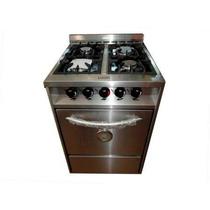 Cocina Industrial De Uso Familiar Luqma 4h 55cm Y 60cm