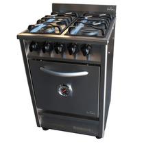 Cocina Profesional Fornax Ci55 Acero Fundicion Puerta Ciega