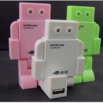 Robot Hub Usb 4 Puertos Regalo Original! 2.0 480 Mbps
