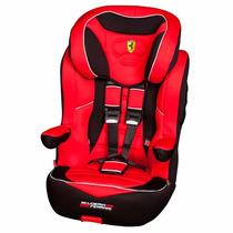 Butaca Silla Auto Con Booster Ferrari 9 A 36kg Reclinable