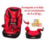 Butaca Booster Ferrari Silla Auto 9 A 36kg Tiendamibebe
