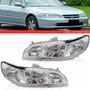 Optica Honda Accord 98 99 00 01 02 Giro Blanco