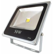 Reflector Led 50w Blanco Exterior Bajo Consumo Max. Potencia