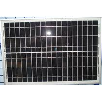 Cargador Batería 12v C/ Panel Solar 20w Y Regulador Solartec