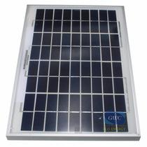 Panel Solar 17,4v 10w Ideal Para Cargar Baterias Solartec