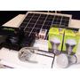 Kit Solar 10w Regulador 2 Lámparas Led Batería Fotocelula