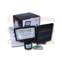 Reflector De 18 Led Con Foto Celula Y Panel Solar