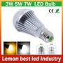 Lampara Bajo Consumo Foco Led Luz Bulb 5w 220v Rosca Comun