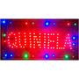 Cartel Luminoso Quiniela , Letrero Led Movimiento, Pizarra