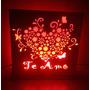 Regalo De San Valentin, Luz De Noche Dia De Los Enamorados!!