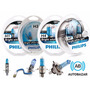 Philips Crystal Vision Ultra H7 H4 H3 H1 4300k Envío Gratis!