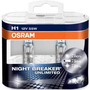 3 Kits Lamparas Night Breaker Unlimited H1 H7 H11 - Osram