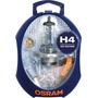H4 Osram T10+posicion+marcha+atras+stop+giro+baliza+fusibles