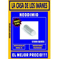 Iman De Neodimio 8x4mm - Por 5 Unidades - El Mejor Precio!!!