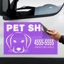 Imán Flexible Para Autos - Vehículos - Fletes - Full Color