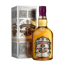 Whisky Chivas Regal 12 Años Con Estuche Importado Escoces