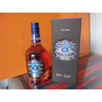 Whisky Chivas Regal 18 Años Con Estuche ,750 Ml Importado