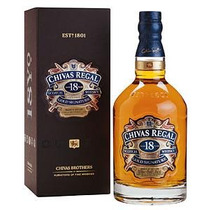 Whisky Chivas Regal 18 Años 750ml - Origen Escocia - 1x750ml