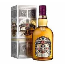 Whisky Chivas Regal 1000 Ml. Con Caja De Cartón.