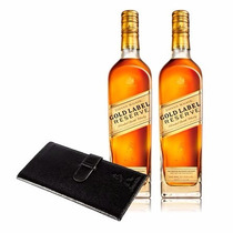 Promo 2 Johnnie Walker Gold Label + Portadocumento - 2x750ml