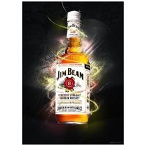 Whiskey Jim Beam White Kentucky Bourbon Whisky Importado Usa