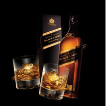 Whisky Johnnie Johnny Walker Black Label 12 Años Litro