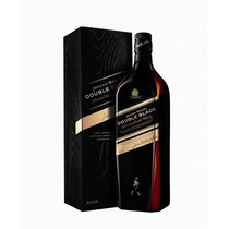 Johnnie Walker Double Black 1litro C/caja De Carton - Oferta