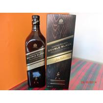 Whisky Johnnie Walker Etiqueta Negra Doble Con Caja