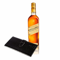 Johnnie Walker Gold Label Reserve 750ml. + Portadocumento