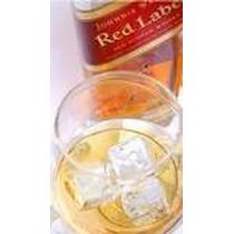 Whisky Johnnie Walker Etiq. Roja 1 Litro Con Estuche.