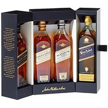 Johnnie Walker Collection Pack X4 - 800ml - Blue Label
