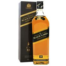 Whisky Johnnie Walker Etiqueta Negra 1lit ¡¡ Super Oferta !!