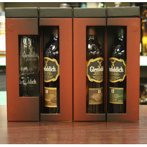 Whisky Glenfiddich Explorers Collection Multipack + Copa