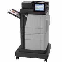 Impresora Laser Color Hp M680f Fotocopiadora Duplex Fax Red