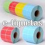 Etiquetas Autoadhesivas Color 50x25mm 2000 Unidades
