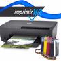 Impresora Hp 6230 Mas Sistema Continuo Con Valvula