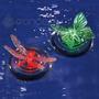 Lampara Solar P/ Piscina Y Fuente - Flotador Automático Led