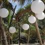 Lamparas Esferas Papel Velas Led Shower/comu/bodas/15