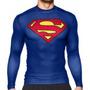 Buzo Térmico Under Armour Compresión Alter Ego Superman