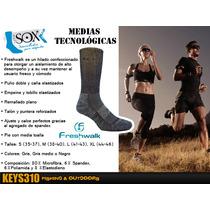 Medias Tecnológicas Sox De Microfibra. Sin Costuras.
