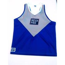 Musculosa Fitness Sublimadas C/ Logo De Tu Gym X 12 Uni.
