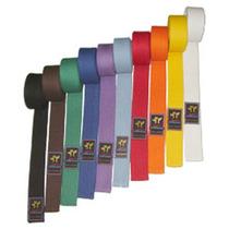 Cinturon De Artes Marciales 2,90 M 10 Cost Reforzado Oficial
