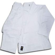 Uniforme Karate Blanco Liso Traje 8 Onzas Talles 1 Y 2 Cap F