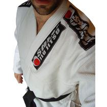 Kimono Jiu Jitsu Shiai Tokaido Tramado Brazilian Bjj Blanco