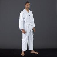 Kit Wtf Dobok Taekwondo T3 O T4+ Pechera + Tibial + Inguinal