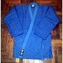 Judogi Shiai Tramado Mediano Azul Judo