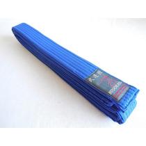 Cinturon Azul Budokan Para Artes Marciales De 7 Costuras