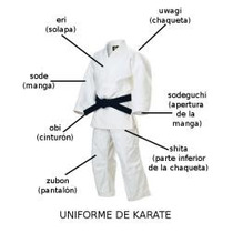 Karategui Standar Karate T6 - T7