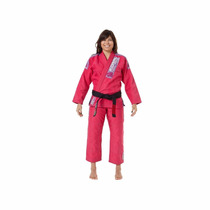 Kimono Jiu Jitsu Mkm Harmonik Koral Femenino