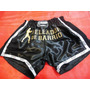Short De Muay Thai - Kick Boxing - Peleador De Barrio